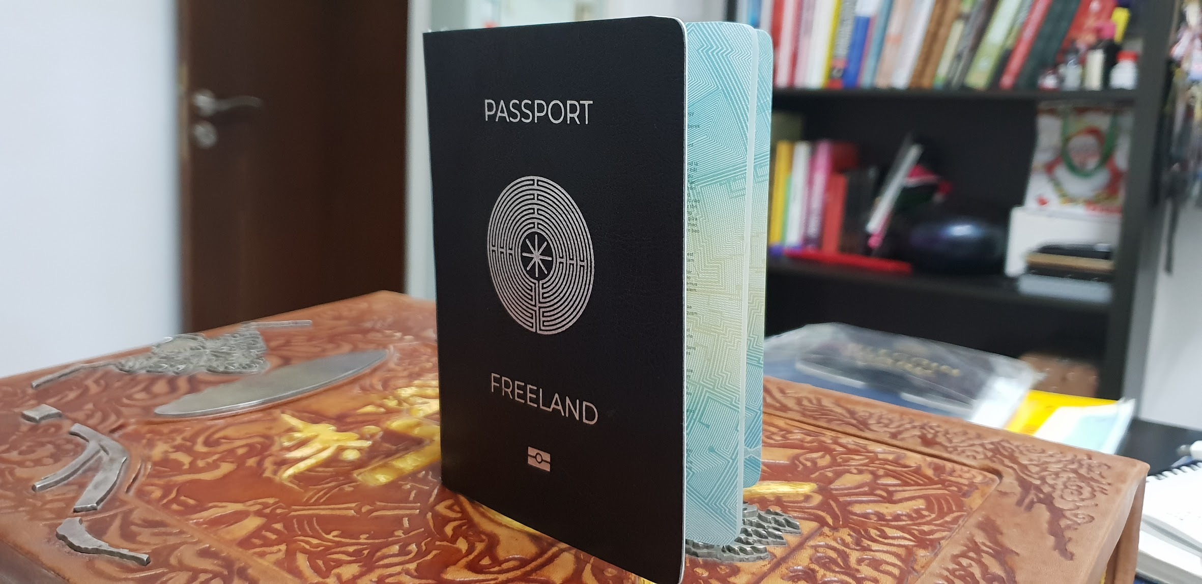 Паспорт Виртуального государства Фриленд