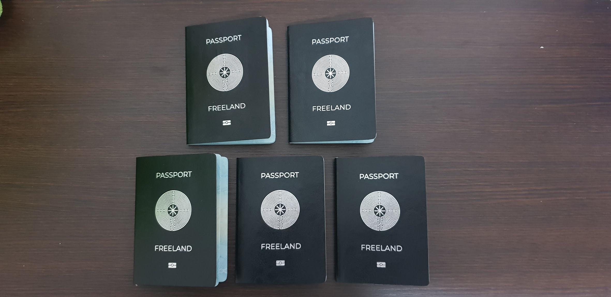 Обложка паспортов Фриленда